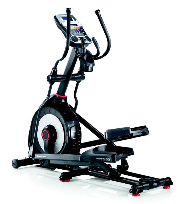 The Schwinn 470 includes Precision Path stride technology to make running on the machine as smooth as possible