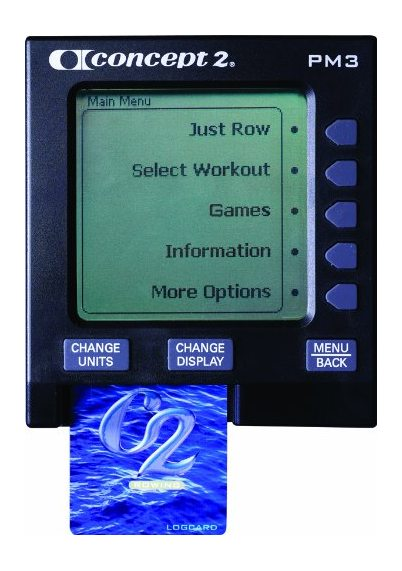 Concept2 Model D Indoor Rower with PM4 Monitor