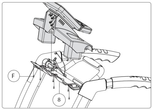 The user manual provides detailed instructions for every step of the assembly