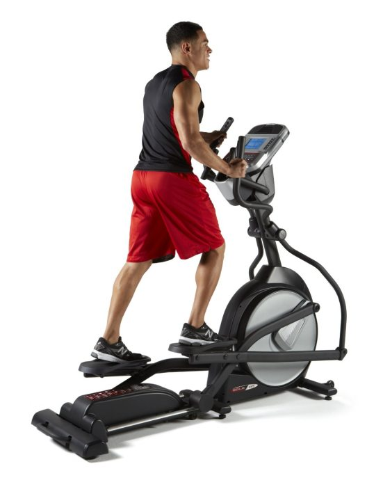 Preset workout programs include hill, interval, cardio, and custom programs created by you