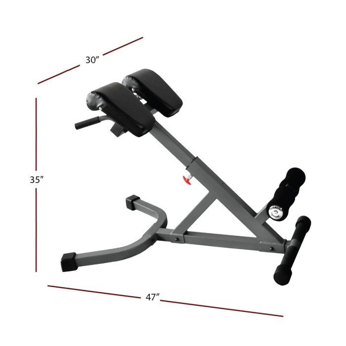 The relatively compact design and lightweight frame make it easy to reposition the bench if required
