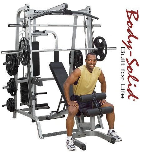 Body Solid Series 7 GS348P4 Smith Machine Review