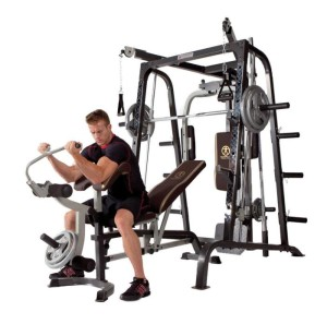 We rated the Marcy Diamond Elite Smith System the best home gym under $1000