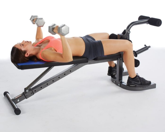 Pure Fitness FID Weight Bench