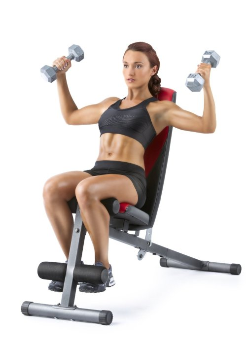 With a number of flat, incline, and decline positions to choose from, this helps to develop and shape specific muscle groups the way you want