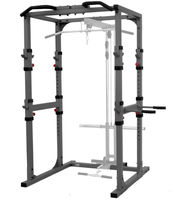 XMark XM-7620 Commercial Power Cage with Dip Station