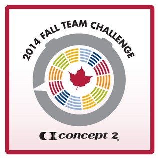 Individual and team rowing challenges are available throughout the year