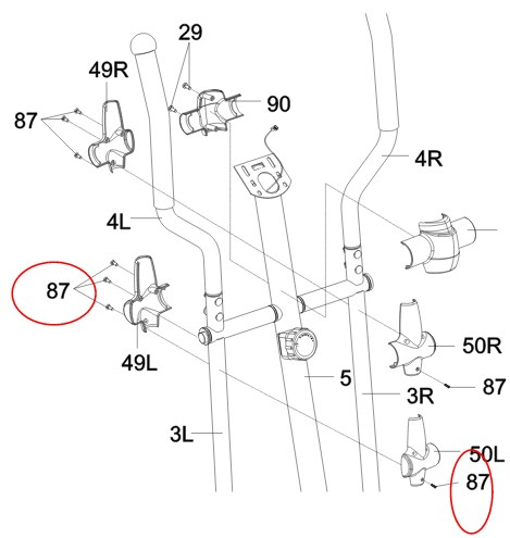 The user manual for the Exerpeutic 1000Xl provides clear step-by-step assembly instructions