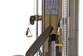 Precor S3.23 Functional Trainer and Bench