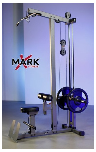 XMark XM-7618 Lat Pulldown and Low Row Cable