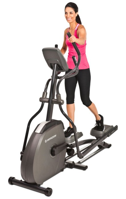 The 18 inch stride length is ideal for anyone up to 6 feet tall