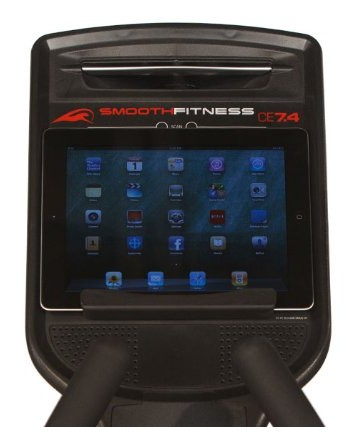 mySMOOTH Virtual Fitness Tracker can be used via a tablet for more realistic virtual running routes
