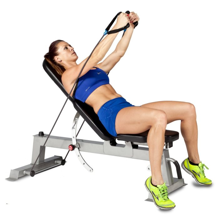Resistance bands can have advantages over dumbbells, such as providing a source of continuous tension