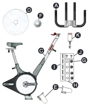 The user manual provides a full parts list, with full colour photos used to make each step easy to follow