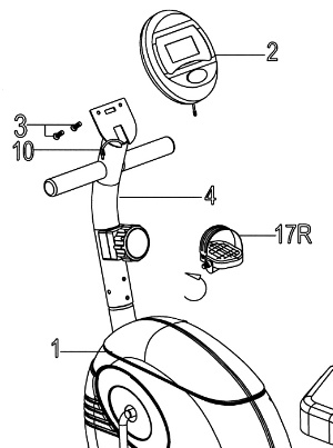 The user manual includes detailed assembly instructions in the form of text and diagrams