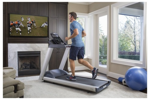 The Precor TRM 445 has 30 additional workout programs compared to the earlier TRM 245 model