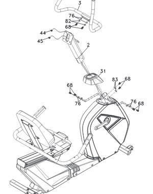 Much of the bike arrives pre-assembled, resulting in a recommended assembly time of around 30 minutes