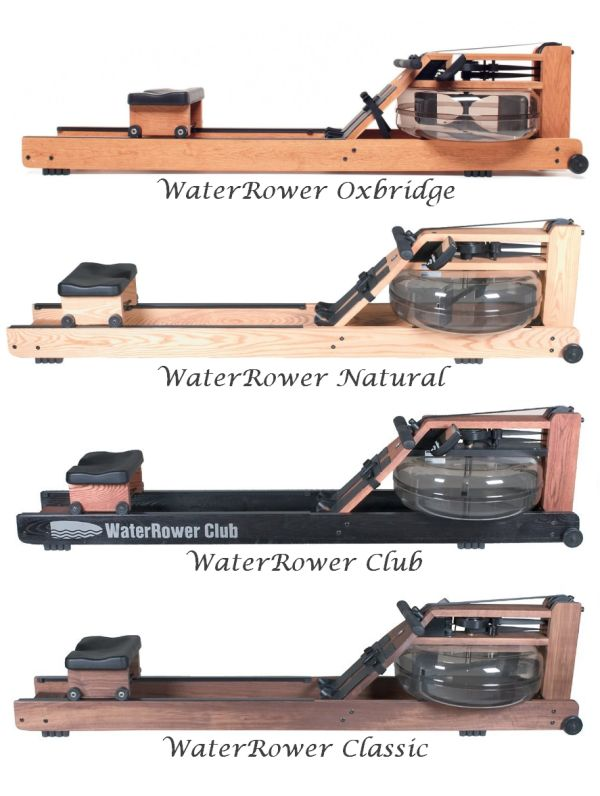 Different types of WaterRower