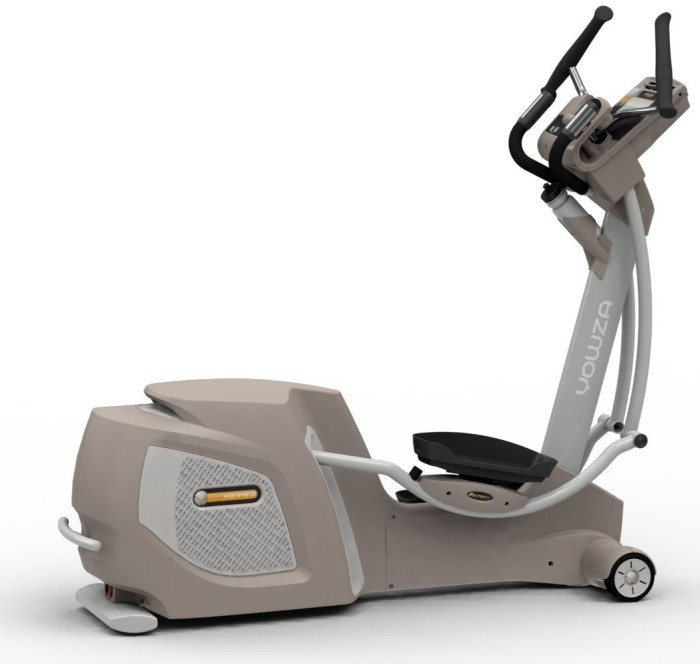 The Pompano features Yowza's patented CardioCore technology, with laterally pivoting handles