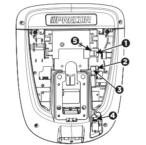 Assembly instructions are mostly for connecting the wires from the base frame to the console