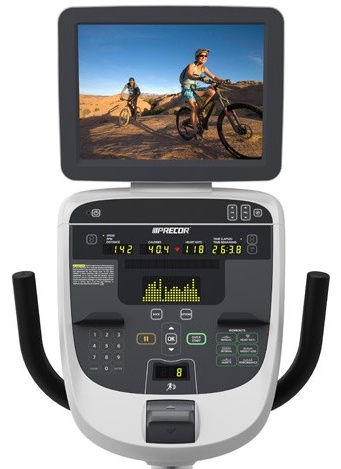 The P30 Console can be upgraded using the Entertainment Cap and Personal Viewing System attachments