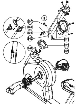 Assembly instructions are well explained, but diagrams are difficult to follow
