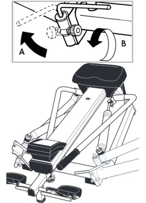 Assembly instructions use diagrams without any words to describe the process