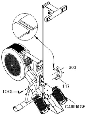 Assembly instructions for the R100 are split into sections to make them easier to follow