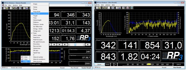 RowPerfect3 RP3W software from Row-Ware