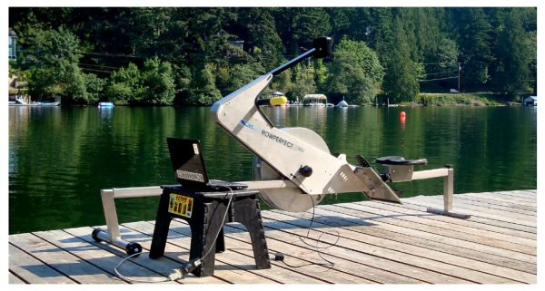 The RowPerfect3 can be coupled to compare stroke movement between multiple rowers