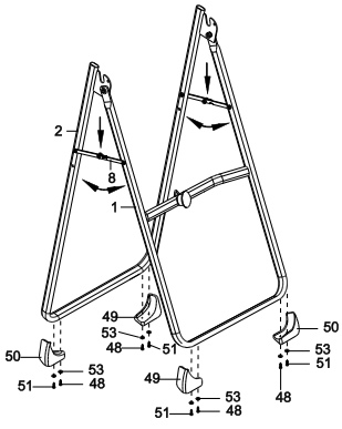 Assembly instructions are clear and easy to follow, with all tools included