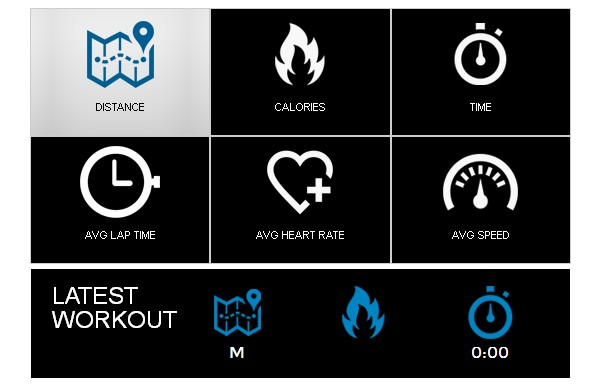 NautilusConnect provides a clear overview of your workout process