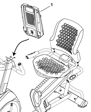 The user manual contains assembly instructions with clear illustrations of how each part fits together