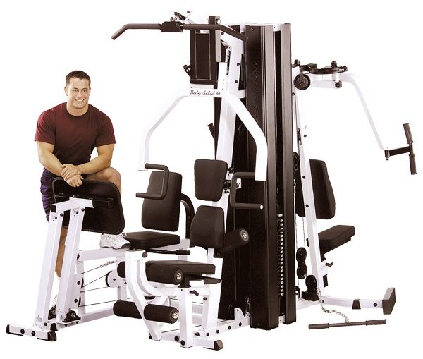 We rated the Body Solid EXM3000LPS the best home gym under $3000