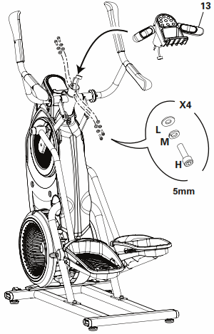 The Max Trainer user manual features clearly written instructions and parts diagrams