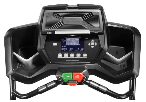 The TreadClimber TC200 console features a USB port for workout data export