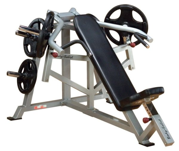 The Body Solid LVIP Incline Leverage bench