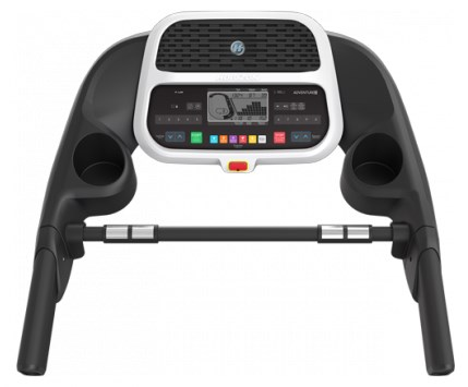 The Adventure 3 treadmill features an extra-wide LCD display screen