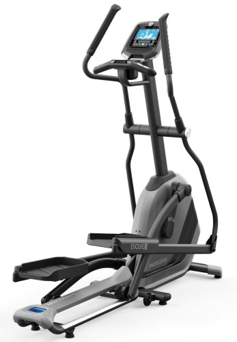 The Horizon Evolve 5 elliptical is built around their unique SixStar Certified frame