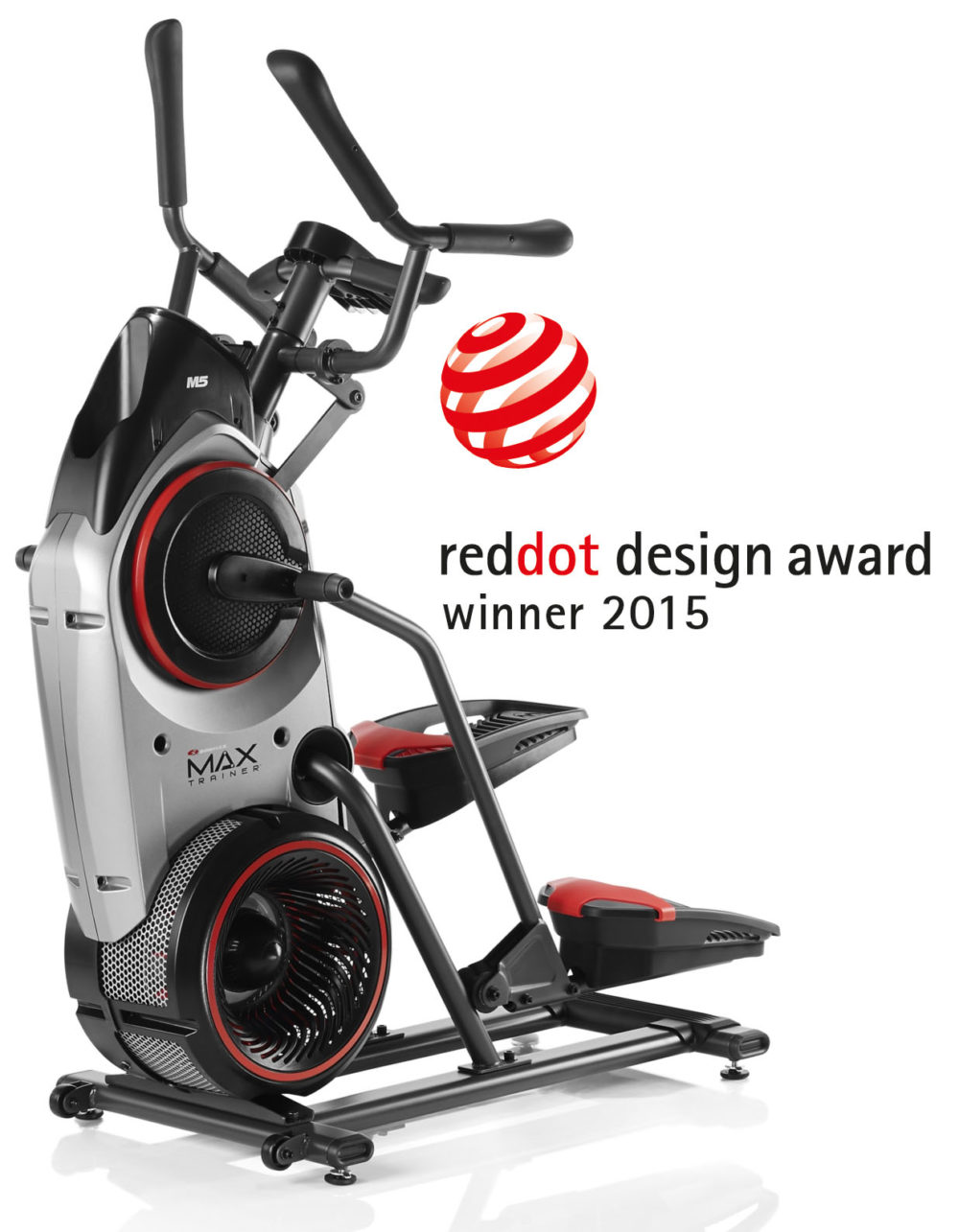 The Bowflex Max Trainer was a winner in the Red Dot design awards 2015