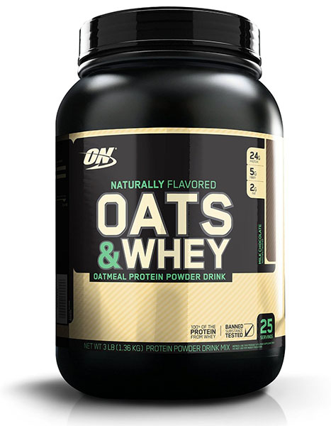 Optimum Nutrition Natural Oats and Whey Protein Powder