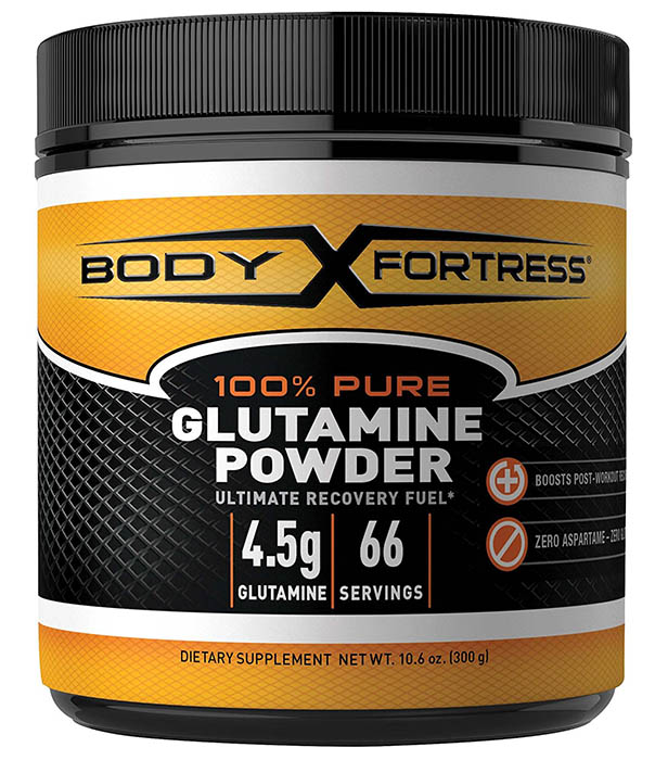 Body Fortress 100% Pure Glutamine Powder Review