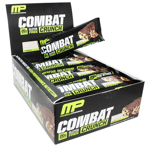 MusclePharm Combat Crunch Protein Bar Review