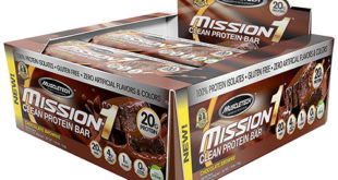 MuscleTech Mission1 Clean Protein Bar
