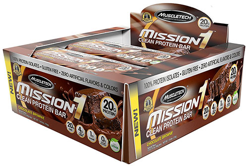 MuscleTech Mission1 Clean Protein Bar Review