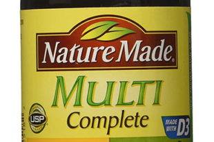 Nature Made Multi Complete with Iron Vitamin and Mineral