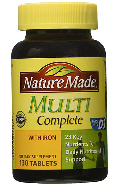 Nature Made Multi Complete Multivitamin Review