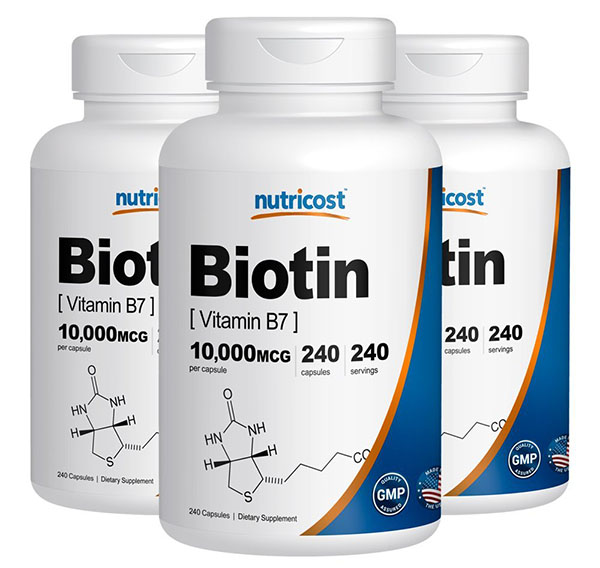Nutricost Biotin Review