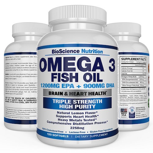 BioScience Nutrition Omega 3 Fish Oil Review