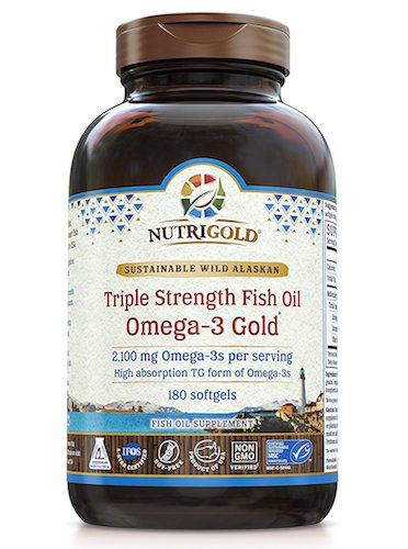 NutriGold Omega-3 Gold Triple Strength Fish Oil Review